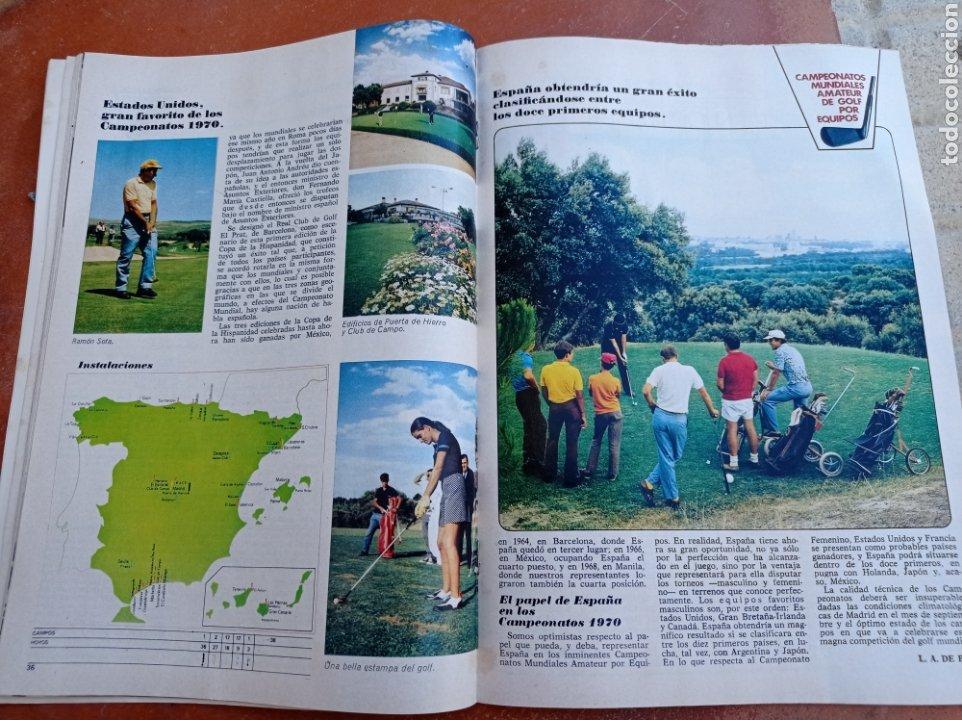 Coleccionismo deportivo: DEPORTE 2000 Nº 20 , 1970 , XII CAMPEONATOS EUROPA NATACION, MUNDIALES GOLF Y PELOTA,. - Foto 4 - 287984903