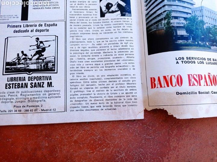 Coleccionismo deportivo: DEPORTE 2000 Nº 20 , 1970 , XII CAMPEONATOS EUROPA NATACION, MUNDIALES GOLF Y PELOTA,. - Foto 6 - 287984903