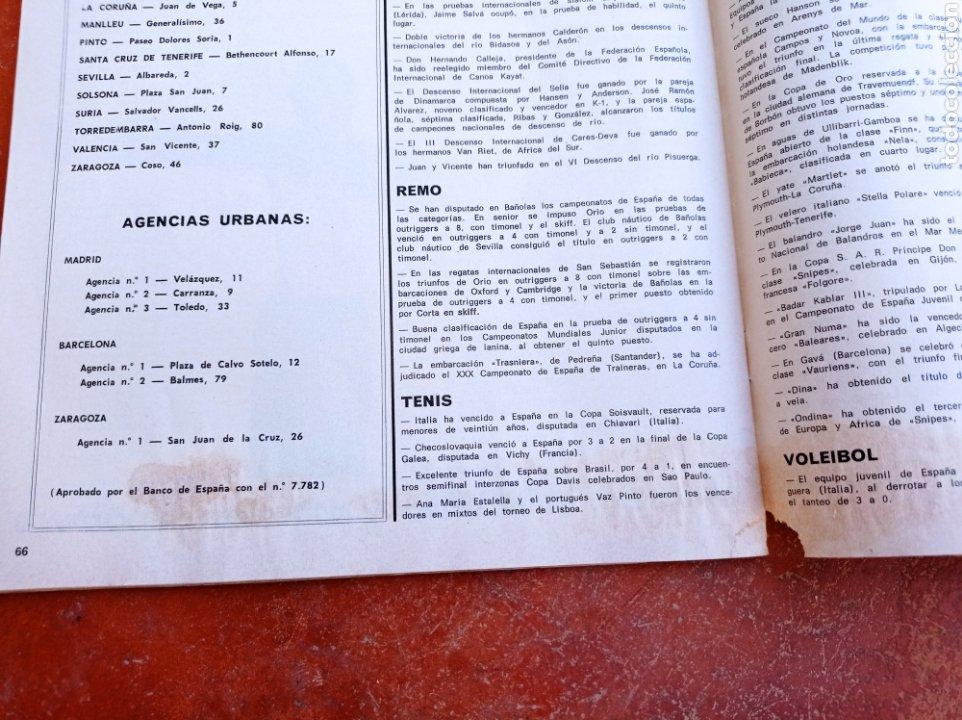 Coleccionismo deportivo: DEPORTE 2000 Nº 20 , 1970 , XII CAMPEONATOS EUROPA NATACION, MUNDIALES GOLF Y PELOTA,. - Foto 8 - 287984903