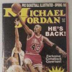 Coleccionismo deportivo: MICHAEL JORDAN - REVISTA ''HE'S COMEBACK'' (1995) - NBA. Lote 288126218