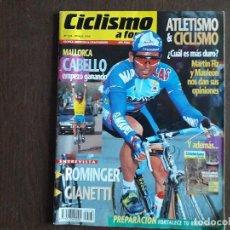 Coleccionismo deportivo: REVISTA CICLISMO A FONDO Nº 136, MARZO DE 1996.. Lote 288213403
