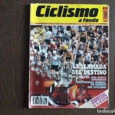 Coleccionismo deportivo: REVISTA CICLISMO A FONDO Nº 67 FEBRERO DE 1991. LA LLAMADA DEL DESTINO.. Lote 288213798