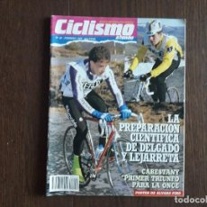 Coleccionismo deportivo: REVISTA CICLISMO A FONDO Nº 40, FEBRERO 1989. LA PREPARACIÓN DE DELGADO Y LEJARRETA.. Lote 288216868