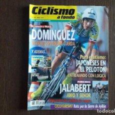 Coleccionismo deportivo: REVISTA CICLISMO A FONDO Nº 149, ABRIL 1997, DOMINGUEZ, UN RELOJ CON MUCHA CUERDA.. Lote 288217408