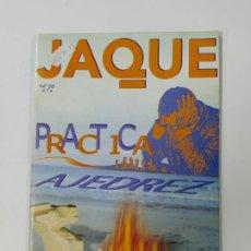 Coleccionismo deportivo: REVISTA JAQUE PRACTICA AJEDREZ Nº 28. RESHEVSKY. TEMAS ESTRATEGICOS. JAQUETAZOS. TDKC118. Lote 288705503