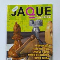 Coleccionismo deportivo: REVISTA JAQUE PRACTICA AJEDREZ Nº 55. PELDAÑO FINAL. JAQUETAZOS. TDKC118. Lote 288705713