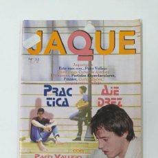 Coleccionismo deportivo: REVISTA JAQUE PRACTICA AJEDREZ Nº 32. PACO VALLEJO. PELDAÑO FINAL. JAQUETAZOS. TDKC118. Lote 288705953