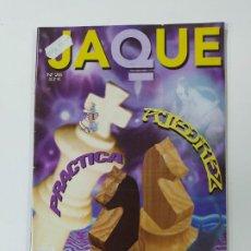 Coleccionismo deportivo: REVISTA JAQUE PRACTICA AJEDREZ Nº 26. TARTAKOWER. PELDAÑO FINAL. JAQUETAZOS. TDKC118. Lote 288706053
