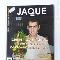 Coleccionismo deportivo: REVISTA JAQUE AJEDREZ Nº 628. LEINIER DOMINGUEZ. TDKC118. Lote 288706528