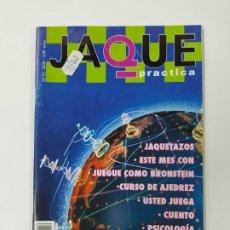 Coleccionismo deportivo: REVISTA JAQUE AJEDREZ Nº 54. 2006. PRACTICA AJEDREZ. BRONSTEIN. TDKC118. Lote 288706713