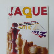 Coleccionismo deportivo: REVISTA JAQUE AJEDREZ Nº 36. 2007. PRACTICA AJEDREZ. PETER LEKO. TDKC118. Lote 288707438