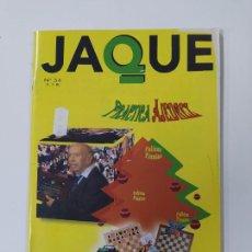 Coleccionismo deportivo: REVISTA JAQUE Nº 34. PRACTICA AJEDREZ. TDKC118. Lote 288707648