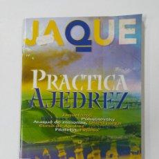 Coleccionismo deportivo: REVISTA JAQUE Nº 30. PRACTICA AJEDREZ. POLUGAEVSKY TDKC118. Lote 288707873