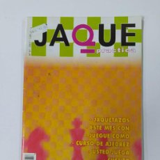 Coleccionismo deportivo: REVISTA JAQUE Nº 57. 2007. PRACTICA AJEDREZ. TDKC118. Lote 288708113