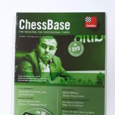 Coleccionismo deportivo: CHESSBASE Nº 186. THE MAGAZINE FOR PROFESSIONAL CHESS. OCTOBER 2018. NUEVO. TDKC118. Lote 288708513