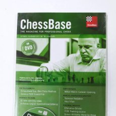 Coleccionismo deportivo: CHESSBASE Nº 180. THE MAGAZINE FOR PROFESSIONAL CHESS. OCTOBER 2017. NUEVO. TDKC118. Lote 288708593