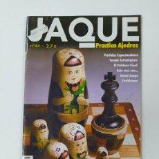 Coleccionismo deportivo: REVISTA JAQUE AJEDREZ Nº 44. 2006. PRACTICA AJEDREZ. TDKC118. Lote 288708758