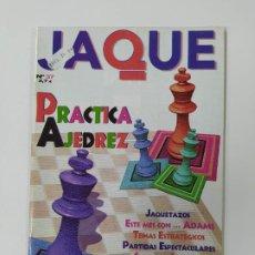 Coleccionismo deportivo: REVISTA JAQUE AJEDREZ Nº 37. ADAMS. PRACTICA AJEDREZ. TDKC118. Lote 288709163