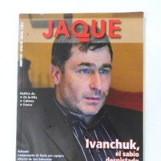 Colecionismo desportivo: REVISTA JAQUE AJEDREZ Nº 643. ABRIL 2010. IVANCHUK. TDKC118. Lote 288909923