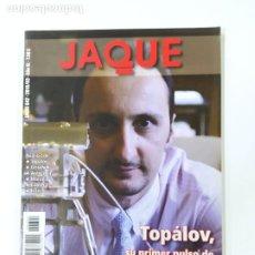 Colecionismo desportivo: REVISTA JAQUE AJEDREZ Nº 642. MARZO 2010. TOPALOV. TDKC118. Lote 288910058
