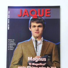 Colecionismo desportivo: REVISTA JAQUE AJEDREZ Nº 641. FEBRERO 2010. MAGNUS CARLSEN. TDKC118. Lote 288910113