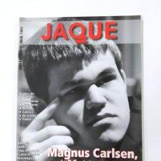 Colecionismo desportivo: REVISTA JAQUE AJEDREZ Nº 640. ENERO 2010. MAGNUS CARLSEN. TDKC118. Lote 288910233