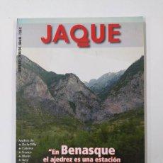 Colecionismo desportivo: REVISTA JAQUE AJEDREZ Nº 647. AGOSTO 2010. BENASQUE. TDKC118. Lote 288951578