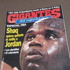 Coleccionismo deportivo: REVISTA...GIGANTES DEL SUPERBASKET...NUMERO..626..1997....SHAQ QUIERE QUITARLE EL ANILLO A JORDAN.... Lote 289222963