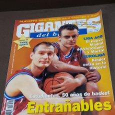 Coleccionismo deportivo: REVISTA...GIGANTES DEL BASKET....NUMERO 652...1998...CON EL POSTER DE PREDRAG DANILOVIC...... Lote 289489518