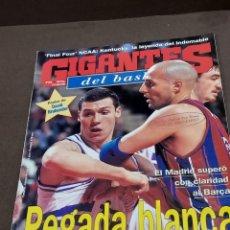 Coleccionismo deportivo: REVISTA...GIGANTES DEL BASKET....NUMERO 649....1998......POSTER DE DAVID BRABENDER.. ....... Lote 289554233