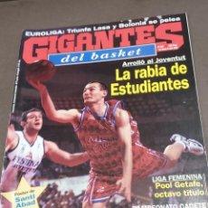 Coleccionismo deportivo: REVISTA...GIGANTES DEL BASKET....NUMERO 648.....1998......POSTER DE SANTI ABAD.......... Lote 289555263
