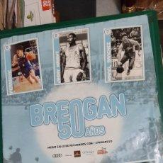 Coleccionismo deportivo: BREOGAN BALONCESTO LUGO 50 AÑOS PERIÓDICO FOTOS HISTORIA PROGRESO PUBLICIDAD DEPORTE LUCENSE. Lote 292554943