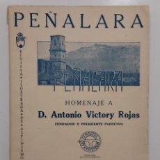 Coleccionismo deportivo: REVISTA ILUSTRADA DE ALPINISMO PEÑALARA. EXTRA. HOMENAJE A ANTONIO VICTORY ROJAS. 1956. FOTOS. Lote 292578378