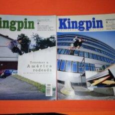 Coleccionismo deportivo: KINGPING. SKATEBOARD EUROPA. NUMEROS 59 Y 60.. Lote 293496143