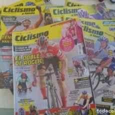 Coleccionismo deportivo: LOTE DE 15 NUMEROS DE LA REVISTA CICLISMO A FONDO . 2020 - 2021. Lote 294809413