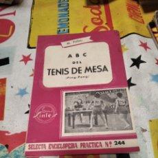 Coleccionismo deportivo: ABC DEL TENIS DE MESA. Lote 294961003