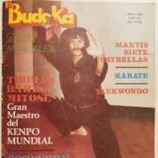 Coleccionismo deportivo: BUDOKA/ELVIS 1985. Lote 296051158