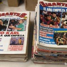 Coleccionismo deportivo: COLECCIÓN DE 96 (+1) REVISTAS ''GIGANTES DEL BASKET'' (1989-1993) - NBA. Lote 296069953