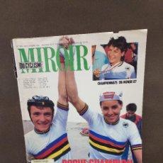 Coleccionismo deportivo: REVISTA...MIROIR DU CICLISME...NUMERO 399...1987.... Lote 297176163
