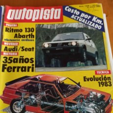 Coleccionismo deportivo: REVISTA AUTOPISTA. NÚMERO 1279. 21 ENERO 1984. Lote 297345083