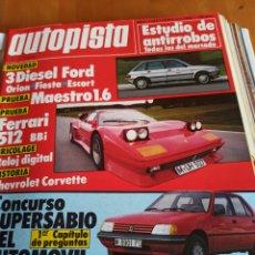 Coleccionismo deportivo: REVISTA AUTOPISTA. 18 FEBRERO 1984. NÚMERO 1283. Lote 297347193