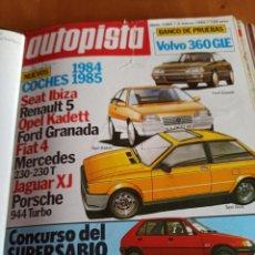 Coleccionismo deportivo: REVISTA AUTOPISTA. 3 MARZO 1984. NÚMERO 1285. Lote 297347853