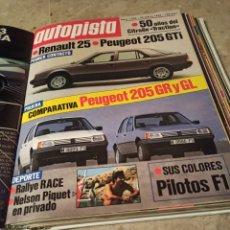 Coleccionismo deportivo: REVISTA AUTOPISTA. 24 MARZO 1984. NÚMERO 1288. Lote 297352563