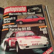 Coleccionismo deportivo: REVISTA AUTOPISTA. 31 MARZO 1984. NÚMERO 1289. Lote 297353978