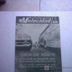 Coches: REVISTA VELOCIDAD Nº 99 (BARREIROS,DAHUPINE,CATALOGO MERCURY,AGUAS VIVAS,STIRLING MOSS). Lote 25080157