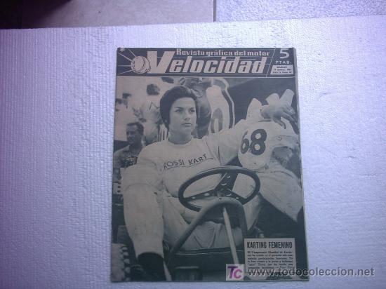 VELOCIDAD Nº 42(JUAN ELIZALDE OSSA,PERMANYER MONTESA,MOTOCARRO,FCA DE VESPA,LAND ROVER) (Coches y Motocicletas Antiguas y Clásicas - Revistas de Coches)