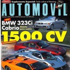 Coches: REVISTA AUTOMOVIL. Nº 269. JUNIO 2000. Lote 27586852