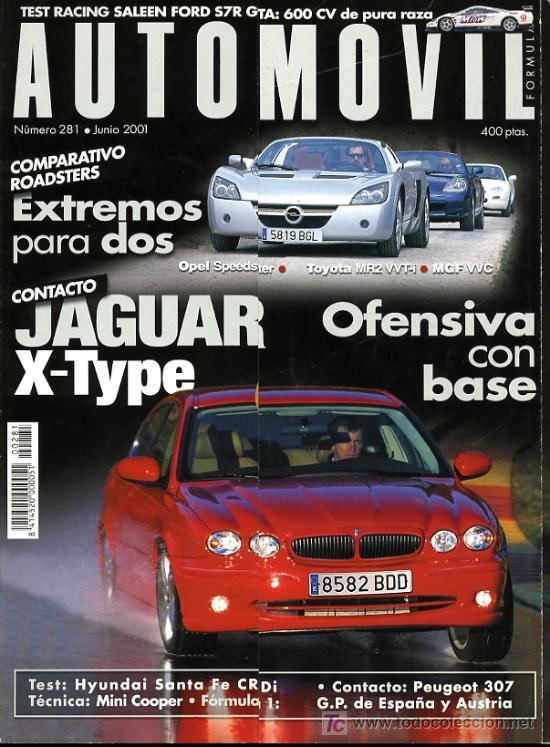 REVISTA AUTOMOVIL. Nº 281. JUNIO 2001. COMO NUEVA (Coches y Motocicletas Antiguas y Clásicas - Revistas de Coches)
