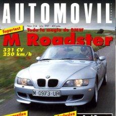 Coches: REVISTA AUTOMOVIL. Nº 234. JULIO 1997. COMO NUEVA. Lote 27409041