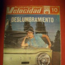 Coches: VELOCIDAD Nº 416 (30 AGOSTO 1969) RENAULT COPA TS, . Lote 26799438